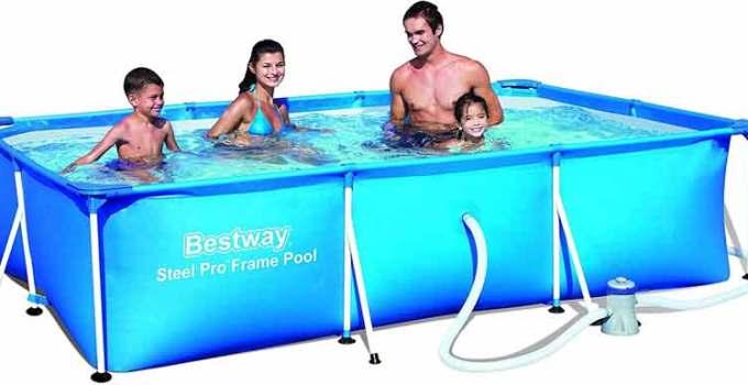 Migliori piscine fuori terra bestway 2018 prezzi offerte for Piscine bestway steel pro
