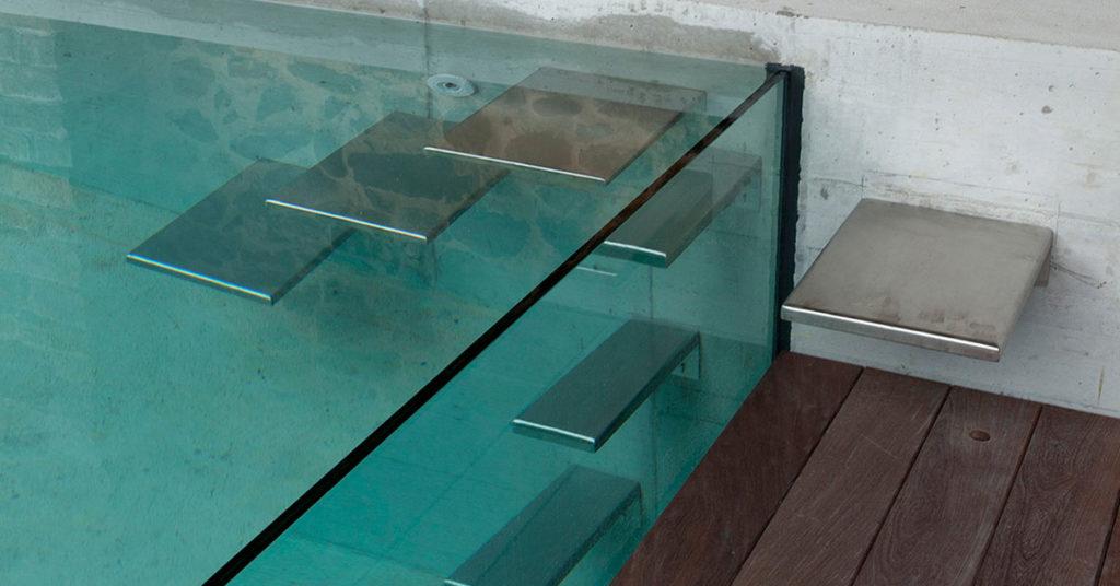 piscine a debordement sur parois