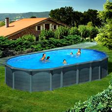 piscine hors sol gre en acier ovale 730x375x1 32 capri kitprov7388gf