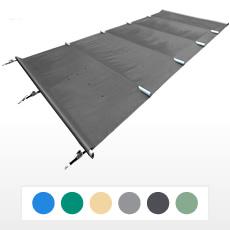 bache a barre 4 saisons classique 580 gmq format standard pour piscine rectangulaire 12x5 m
