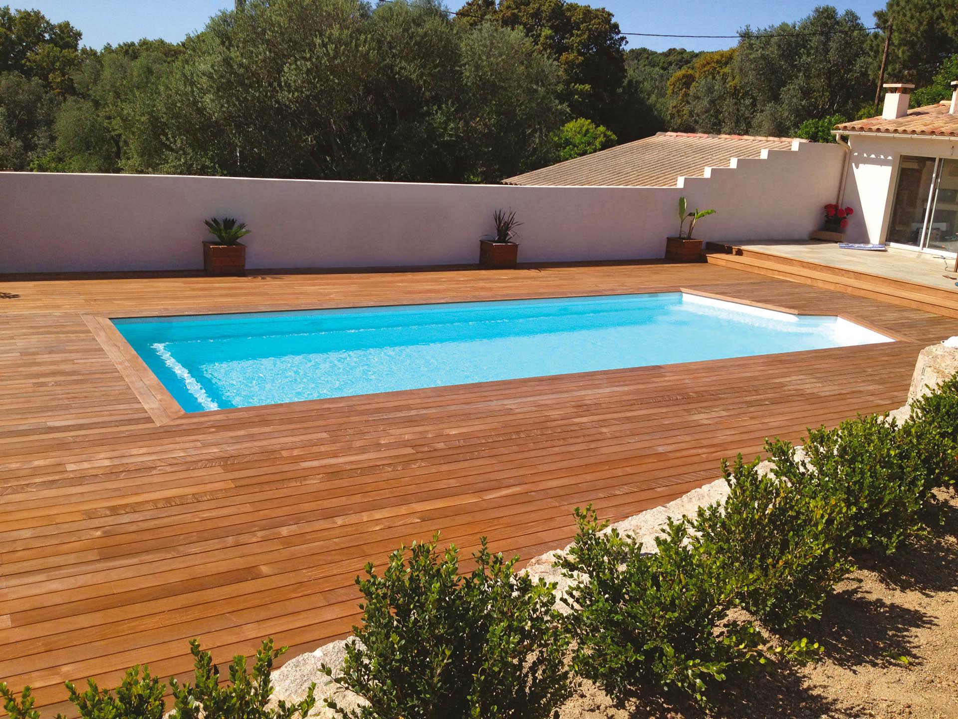 piscine coque polyester forme rectangulaire 11x4 a fond plat california 3 piscines ibiza