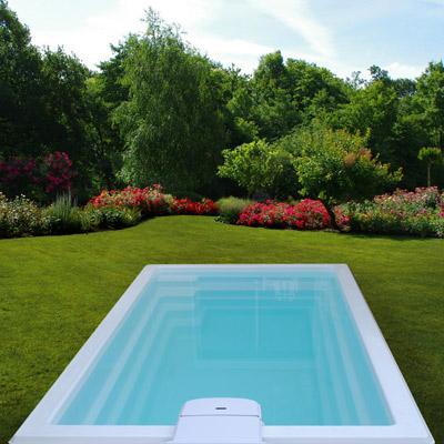 mini piscine coque deva