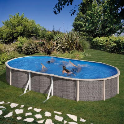 piscine en acier gre fusion pool ovale