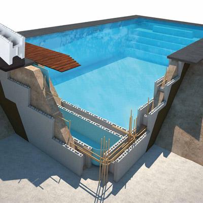 kit piscine blocs polystyrene astral first bloc