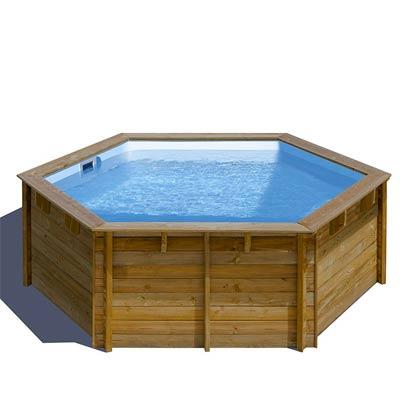 piscine bois hors sol enterrees ou