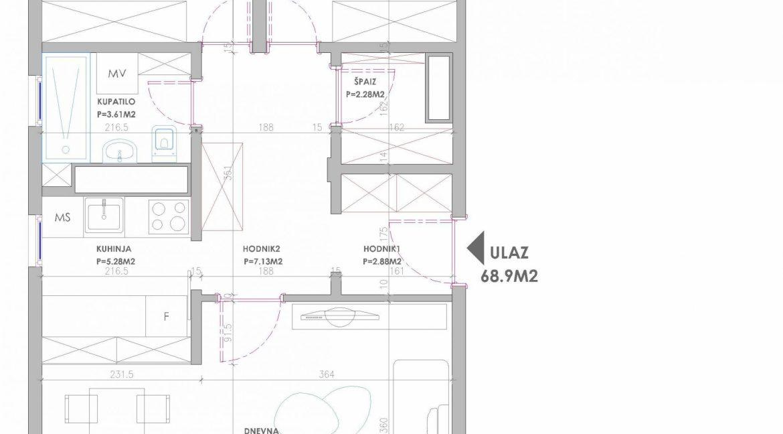 Prodaja stan u Mitra Bakica 59000-22