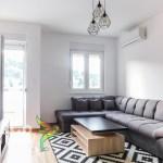 Izdaje se lijepo opremljen jednosoban stan u City Key Podgorica