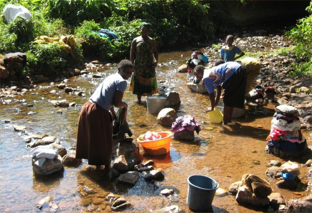 Image result for african washing clothes