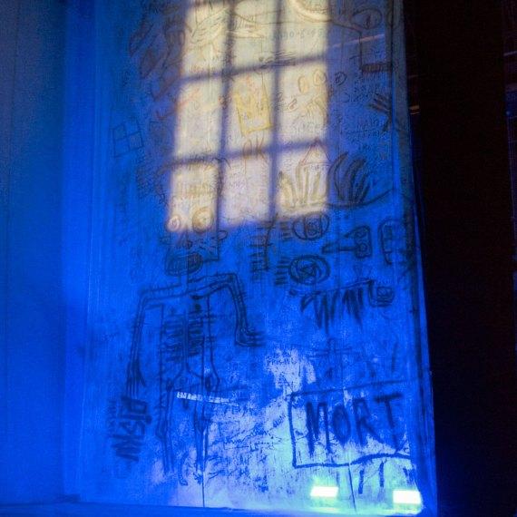 ultimo giorno di un condannato a morte - la street art a teatro by piskv