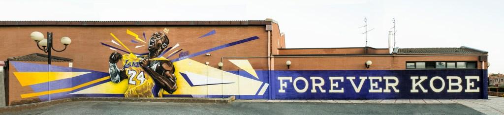 """""""Forever Kobe"""" by Piskv_Pala Tellene, Roma_2020"""