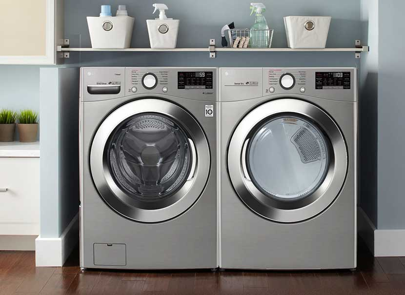 lavadora y secadora eficientes