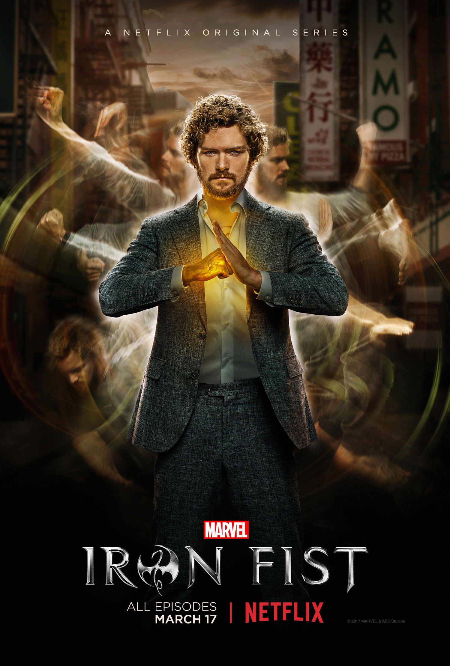 New Poster Revealed for Netflix's Iron Fist