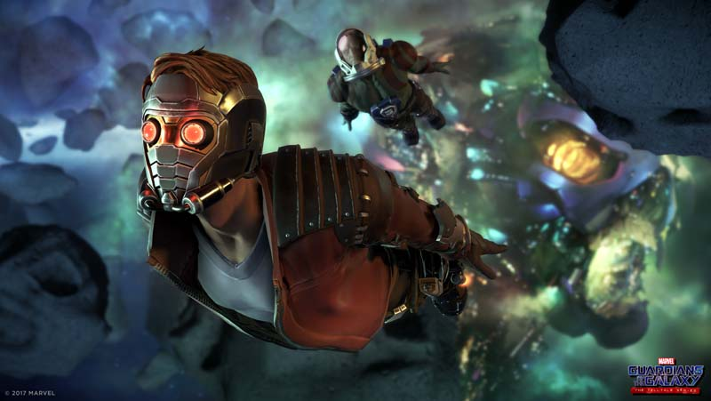 Thanos Arrives in the Trailer for Telltale's Guardians of the Galaxy