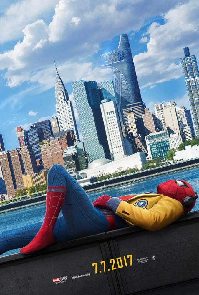 New Spider-Man:Homecoming  Posters Tease New Trailer