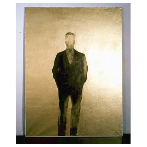 'Gold Self-Portrait,' 1960 oil, acrylic and gold on canvas, cm 200 x 150