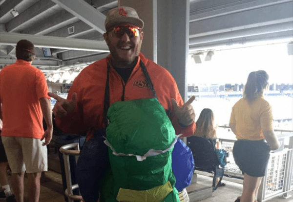 Meet one of OSU Baseball's Biggest Supporters | Pistols Firing