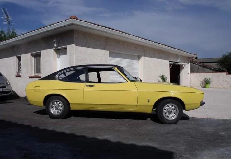 1974 Ford Capri 1300 Mk2