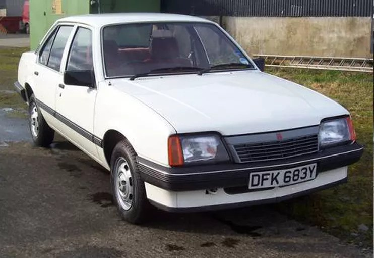 1983 Vauxhall Cavalier 1.6L