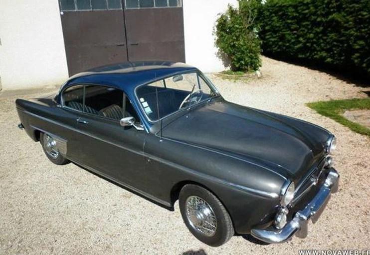1957 Renault Frégate Chapron Coupé