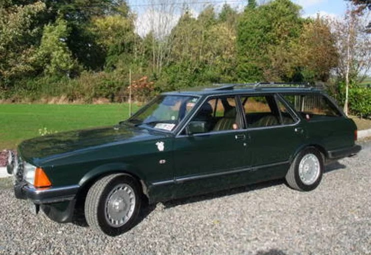 1983 Ford Granada 2.8i Ghia X Tickford