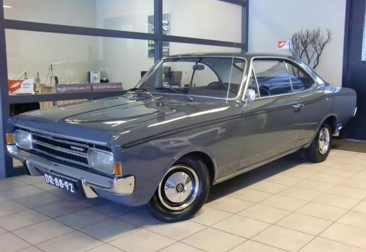 1967 Opel Rekord Coupe