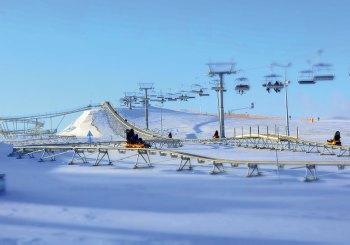 Na narty na Mazury, a nie w góry !
