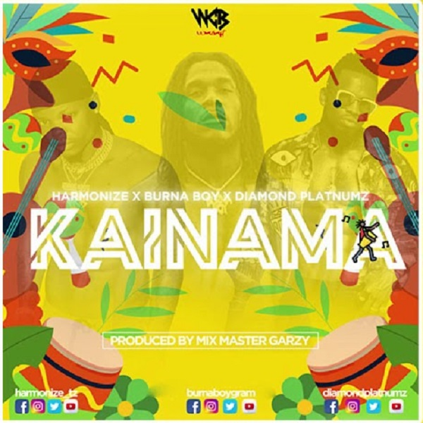 Harmonize - Kainama ft. Burna Boy & Diamond Platnumz