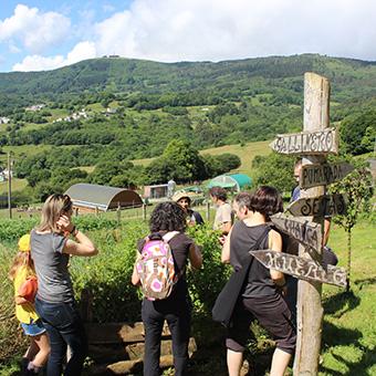 visitas guiadas granja ecológica Pitasana