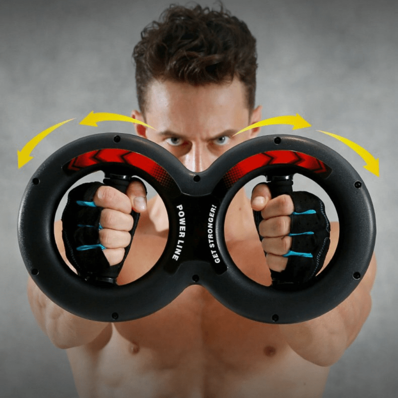 Arm and wrist muscle exercise training device