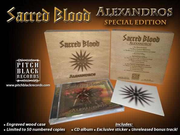 SACRED BLOOD Alexandros SE