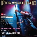 Firewind Live in Cyprus