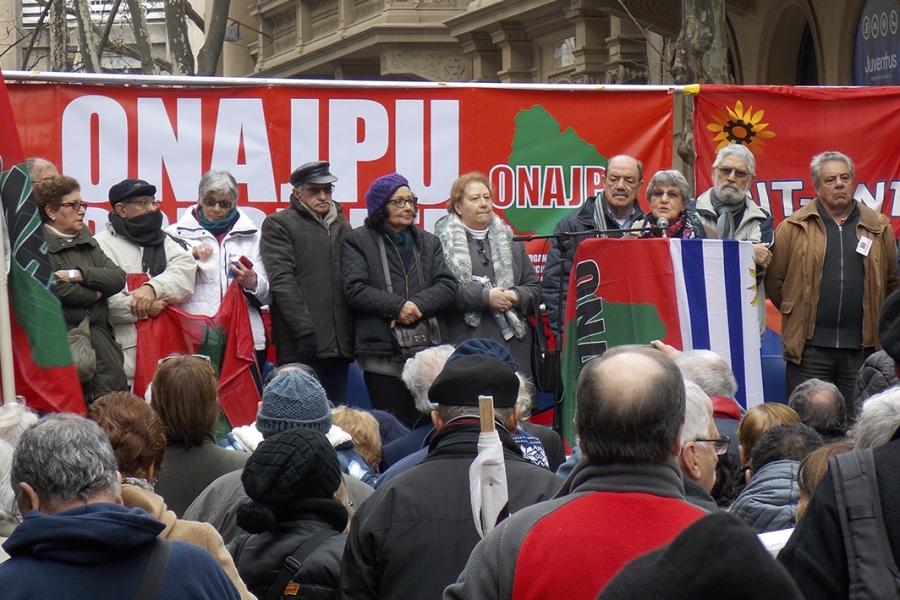 """Obreros, estudiantes y cooperativistas se unieron al reclamo de la Onajpu por """"jubilaciones dignas"""""""
