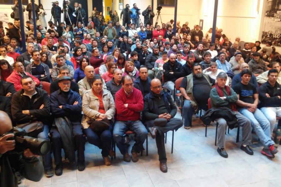 """Fernando Pereira (presidente del PIT-CNT): """"Ahora hay que ir por más"""""""