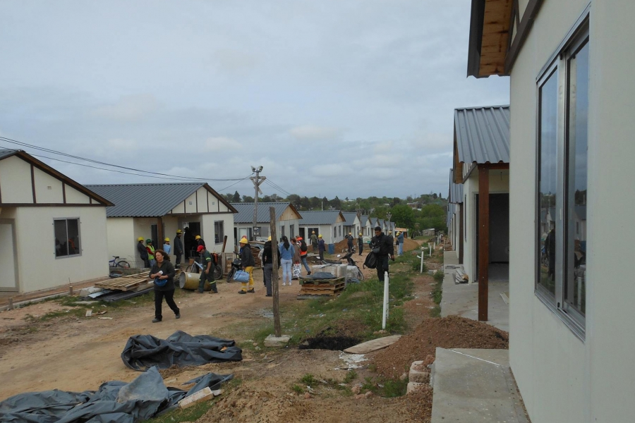 El 80% de los socios de Coviprovisin de Paysandú ya viven en sus casas