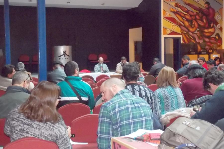 """Plan de acción del PIT-CNT se propone el """"fortalecimiento"""" de la central sindical y de todos sus organismos"""