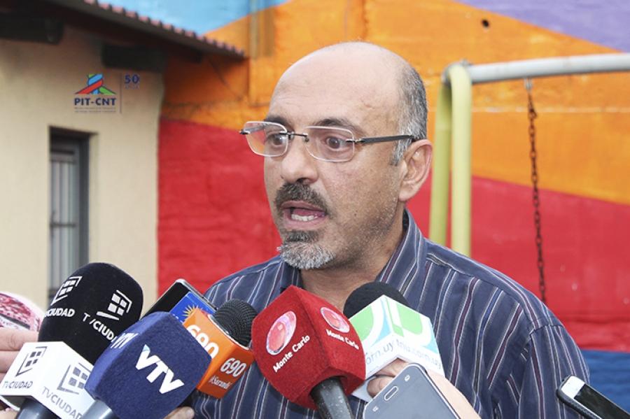 """Abdala (PIT-CNT): """"Estamos en conflicto con el Poder Ejecutivo"""""""