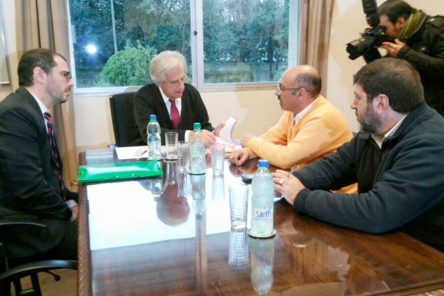 En 48 horas el presidente Vázquez le dará una repuesta por escrito a los planteos del PIT-CNT