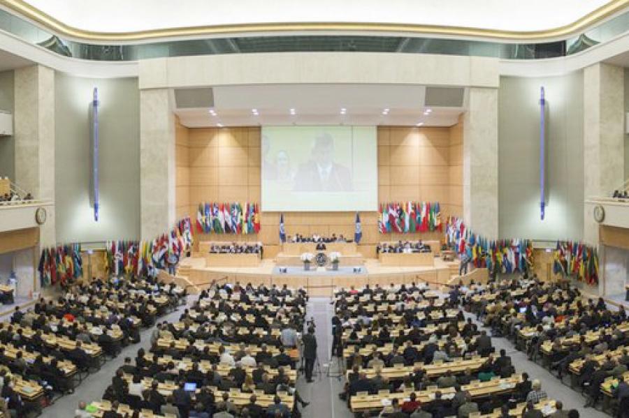 """Gambera en OIT: """"Vivimos en un mundo signado por graves situaciones de injusticia que ponen en constante peligro la paz social"""