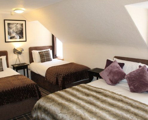 Family room at Pitfaranne B&B Inverness