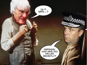 Yates Bahrain security question blunder
