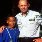 Lewis Hamilton Ron Dennis