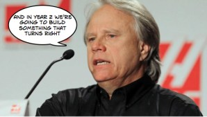 Gene Haas approves aggressive F1 development plan