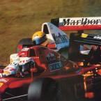 Prost Senna Suzuka 1990