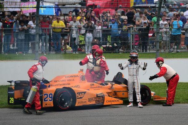 Fernando Alonso Indianapolis 500 2017