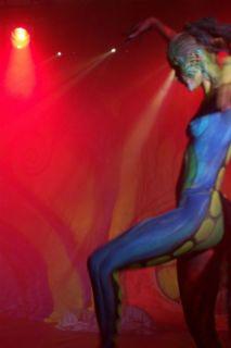 Body Panting para la compañía Art Color Ballet