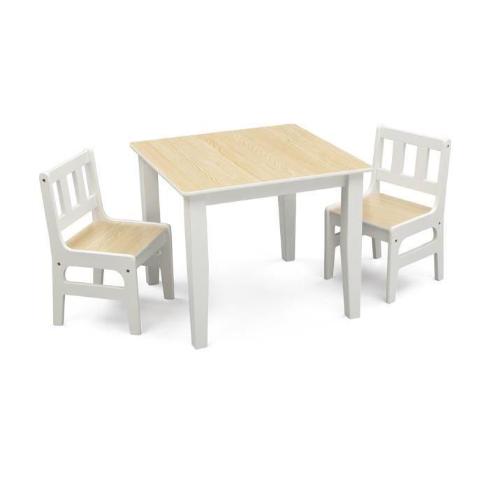 Table Et Chaise Bb 18 Mois Pi Ti Li