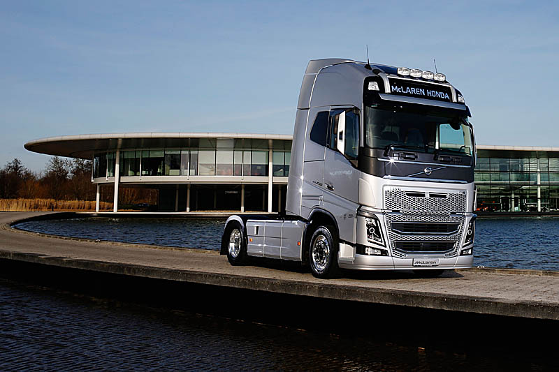 McLaren partners with Volvo Trucks - Pitpass.com