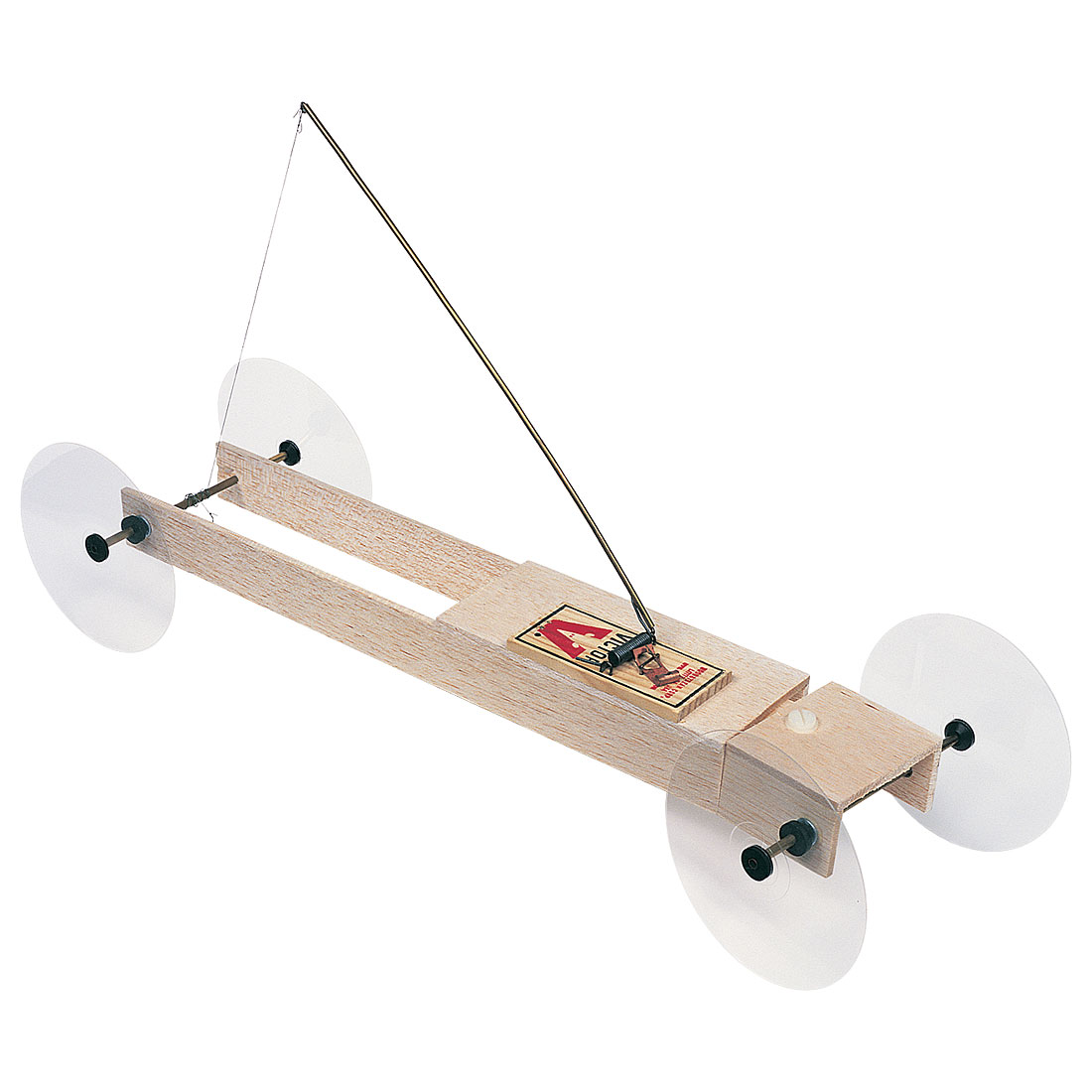 Basic Mousetrap Vehicle Kit Ii With Steering