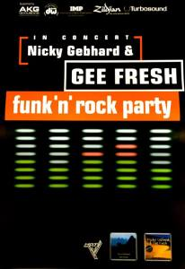 Nicky Gebhard & Gee Fresh Live On Tour - 2017 Chillout Funk am 10.03. im Pink Panther Dormagen