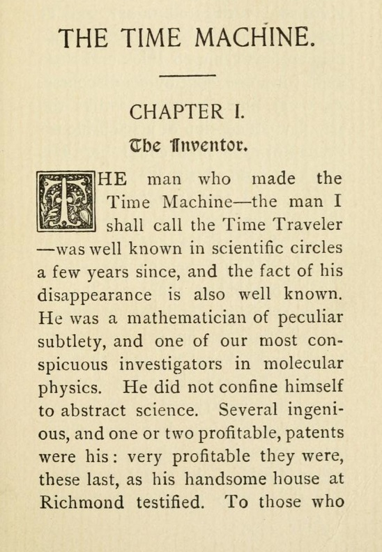 Time Machine page 1